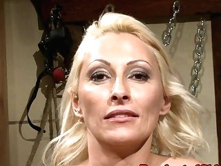 Euro Cougar Predominated By Black Man Meat