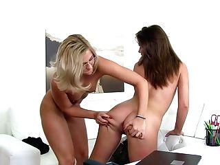 Best Adult Movie Stars Jana Q Leda, Emma Tracy In Fabulous Reality, Lezzy Adult Clip