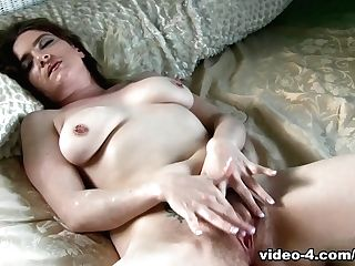 Crazy Superstar In Amazing Hairy, Solo Gal Pornography Scene