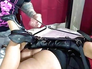 Mummy Gigi Leather Restrain Bondage