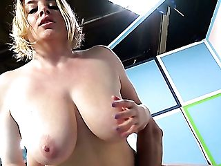 Appetizing Whore With Saggy Bra-stuffers And Tasty Butt Maggie Green Is Fucked Hard