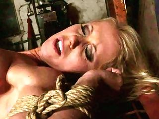 Alluring Blonde Stunner Gets Her Assets Jamed With Clothing Pegs In Sadism & Masochism Bang-out Flick
