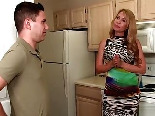 Step Mom Punctured By Big Dick Step Son-in-law