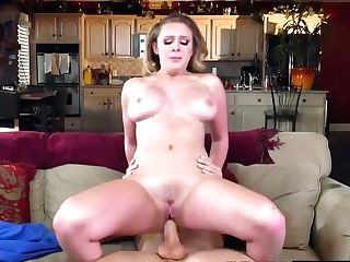 Big Tits Blonde Tramp In Warmth Hungers A Hard-core Twat Drilling