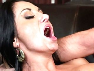 Dark Haired Bombshell Ava Addams Gets Her Slit Spread By Horny Dude Keiran Lee
