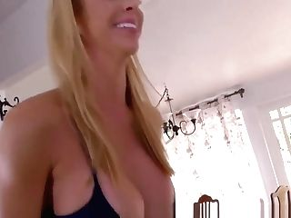 Cougar In Spandex Rails And Gargles Big Black Cock