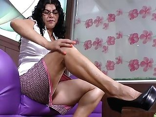 Latinchili Chubby Granny Lucia Inviting Showoff
