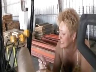 Jerking Off The Employee
